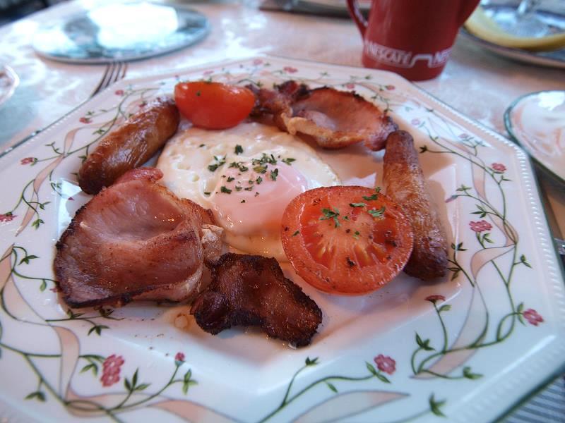 Breakfast at Lough Acoose B&B