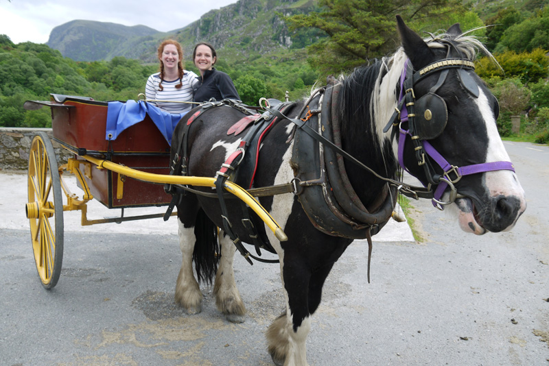 Ponymen in the Gap of Dunloe