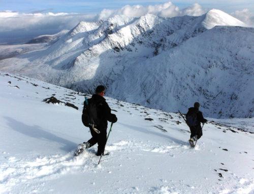 Winter Climbing on McGillycuddy Reeks
