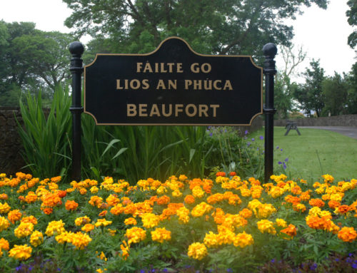 Welcome to Beaufort Sign